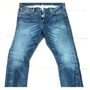 Ralph Lauren men's 018 slim straight jeans